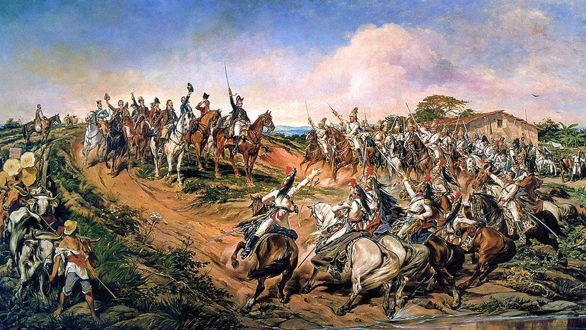 Independência do Brasil: Grito do Ipiranga