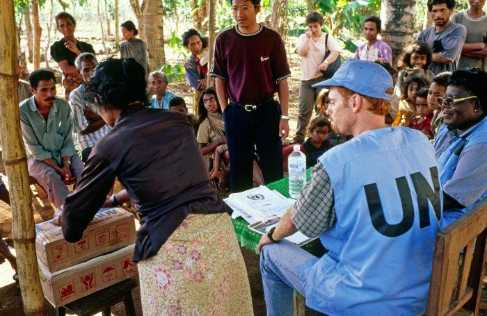 ONU: trabalho de campo
